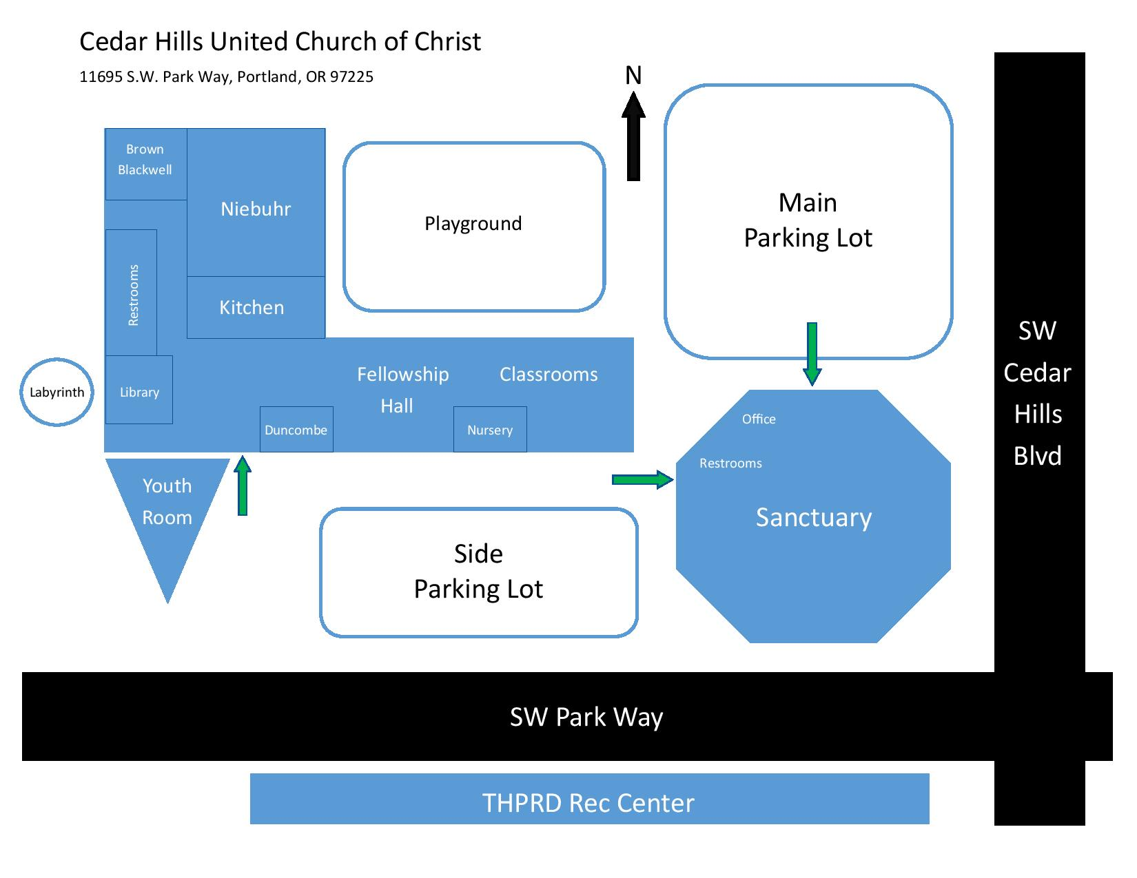 Cedar Hills United Church of Christ » Welcoming Spaces