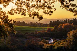 nature, landscape, sun