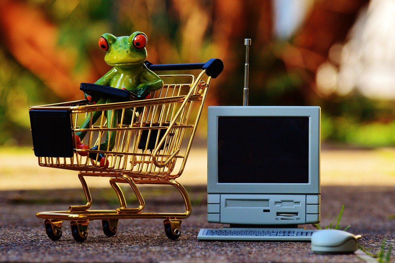online shopping, shopping cart, shopping
